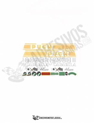 Carabela Deluxe PUCH Stickers KIT