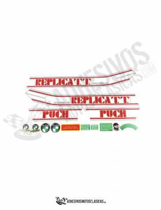 PUCH Replica TT Monjonell Stickers KIT