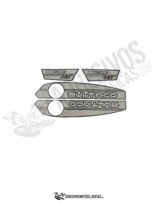 Juego de Adhesivos Bultaco Mercurio 175 GT