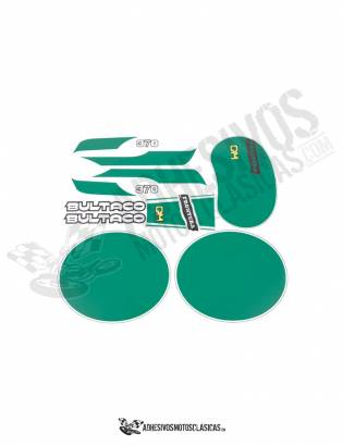 juego Adhesivos BULTACO Frontera Gold Medal 370