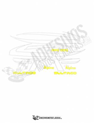 BULTACO Alpina 350 Stickers kit
