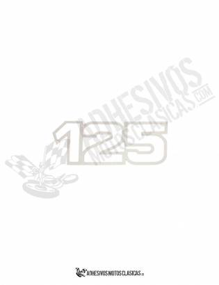 Adhesivo BULTACO 125