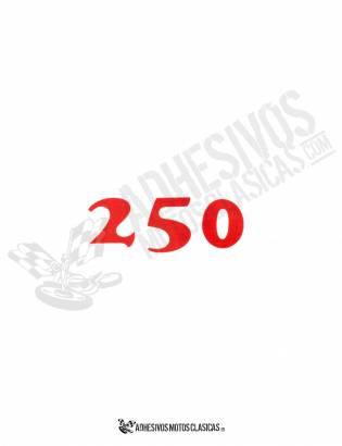 Adhesivo BULTACO 250 frontera