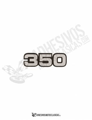 350 BULTACO STICKER