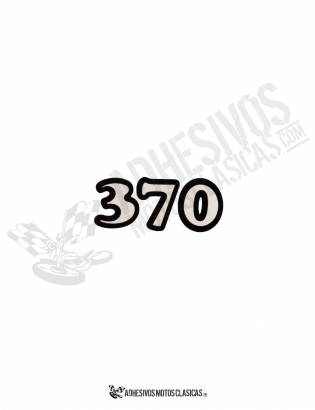 370 BULTACO STICKER