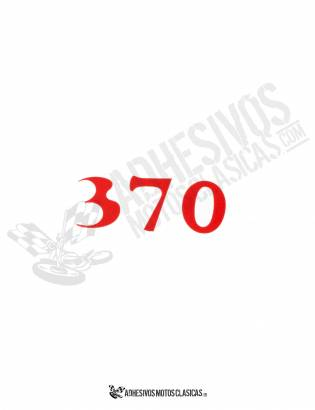 Adhesivo BULTACO 370