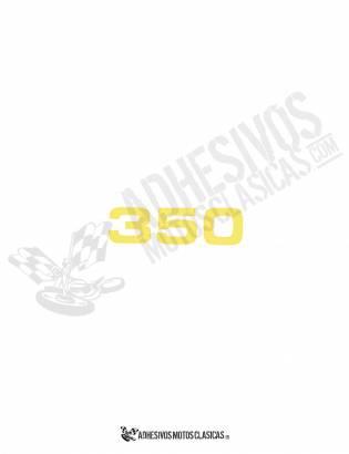 Adhesivo BULTACO 350
