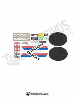 PUCH MAGNUM X  Stickers kit