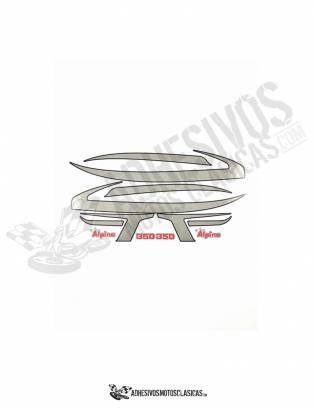 Juego de Adhesivos Bultaco Alpina 188