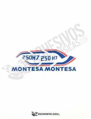 MONTESA Enduro 250 H7 Stickers