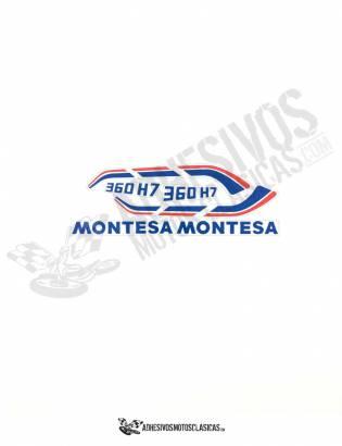 Adhesivos MONTESA Enduro 360 H7