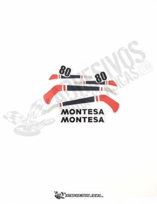 MONTESA Enduro 80 H7 carlos mas Stickers