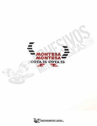 Juego de Adhesivos MONTESA Cota 25 C