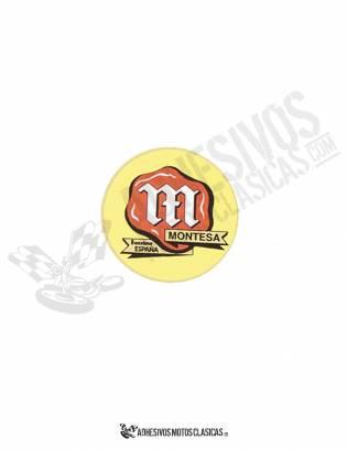 Adhesivo MONTESA logo clásico