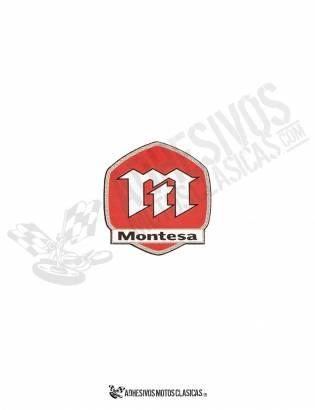 Adhesivo  MONTESA logo moderno