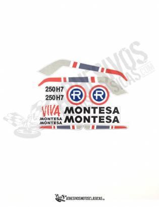 JUEGO DE Adhesivos MONTESA Enduro 250 H7