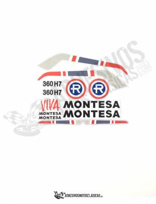 MONTESA Enduro 360 H7 Stickers kit