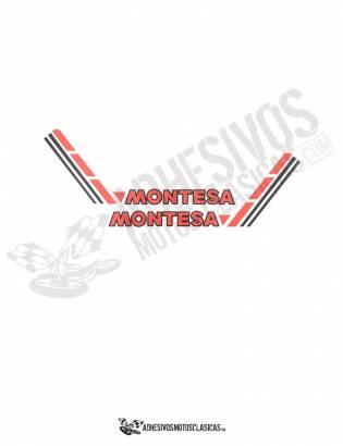 Adhesivos MONTESA Laterales Depósito