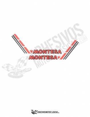 MONTESA Tank Sides Stickers