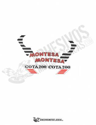 MONTESA Cota 200 Stickers kit