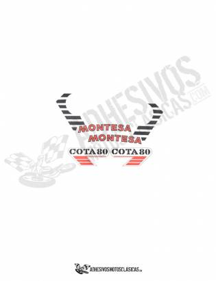 MONTESA Cota 80 Stickers kit