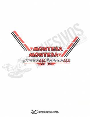 JUEGO DE Adhesivos MONTESA Cappra 414 VG