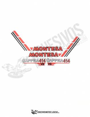 MONTESA Cappra 414 VG Stickers KIT
