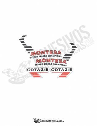 MONTESA Cota 349 Stickers kit