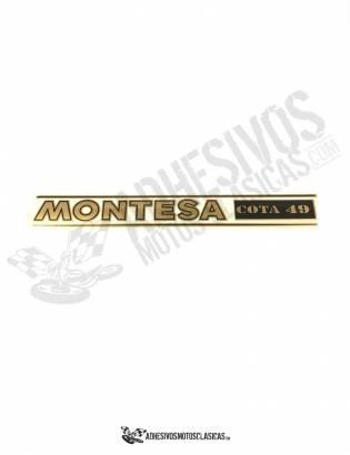 Adhesivo Horquilla MONTESA Cota 49