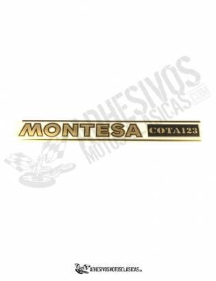 Adhesivo Horquillas MONTESA  Cota 123