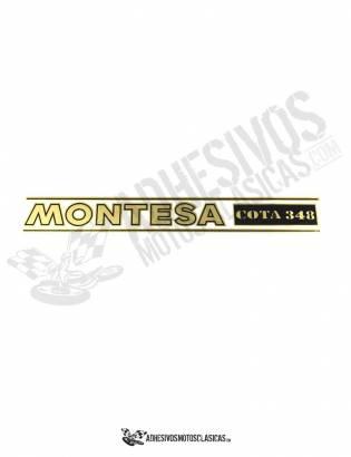 Adhesivo Horquillas MONTESA Cota 348