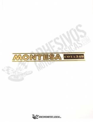 Adhesivo Horquilla MONTESA Cota 349