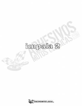 Adhesivo MONTESA Impala 2