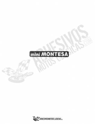 Mini MONTESA Stickers