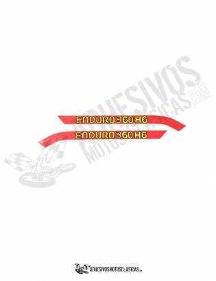 MONTESA Enduro H6 360 Stickers