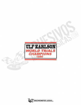 MONTESA ULF Karlson Sticker
