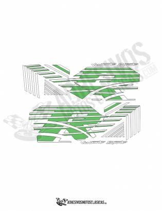 DERBI Variant Sport R Stickers kit