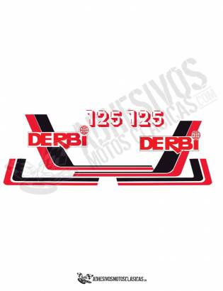 DERBI RC 125 (2) Stickers kit