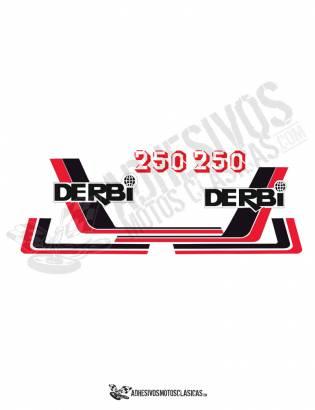 juego de Adhesivos DERBI RC 250 (5)