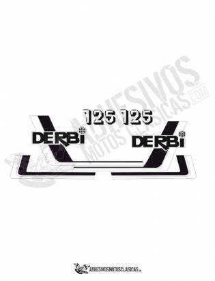 DERBI RC 125 (7) Stickers kit