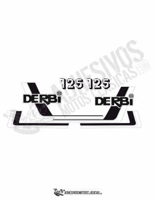 juego de Adhesivos DERBI RC 125 (7)