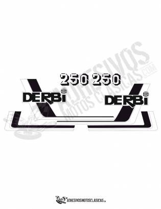 DERBI RC 250 (8) Stickers kit