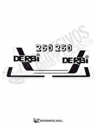 juego de Adhesivos DERBI RC 250 (8)
