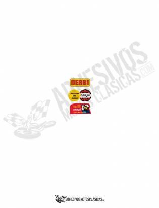 Adhesivos advertencias DERBI todos los modelos