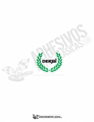 DERBI Black Laurel Sticker