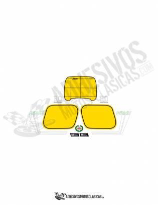 GREEN RIEJU MR 80 Stickers KIT