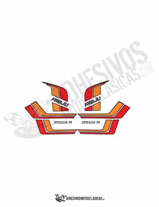 RIEJU Strada 74 Stickers kit