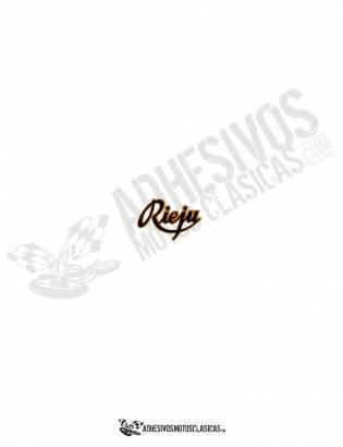 Adhesivo RIEJU logo antiguo