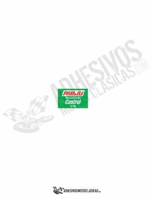RIEJU CASTROL TTS Sticker