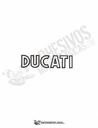 DUCATI Tank Stickers